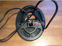 Metal detector..Garret ace 250 standard coil.