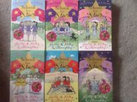 AGE 9-11 YEARS GIRLS BOOKS, HOLLY AND KELLY WILLOUGHBY, SET OF SIX SCHOOL FOR STARS COLLECTION.