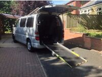 Toyota Hiace 280 D-4D 2.5D 120bhp SWB With Disabled Wheelchair Access Fully Converted ***NO VAT***