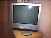 Grey Sony Analogue TV