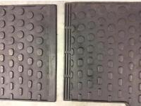 Citroen Picasso Fitted Rubber Mats