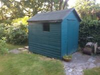 Garden Shed. 8 feet x 6 feet. Needs some small repairs. Free.