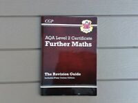 CGP AQA Level 2 Certificate Further Maths Revision Guide Textbook