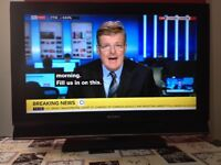 Sony Bravia 26 inch HD LCD TV with built in Freeview, good working condition