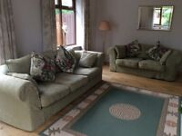 4 Seater & 3 Seater sofa set, top quality, loose covers, down filled and made to last