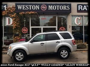 2010 Ford Escape XLT *4CYL *FULLY LOADED *ALLOY WHEELS *NEW TIRE
