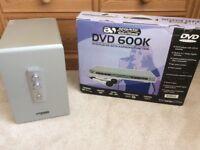 DVD player with cinema surround sound system