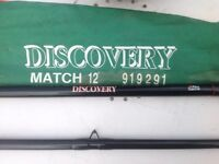 2 12' Abu Discovery Freshwater Rods, as new £25