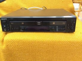 Sony RCD-W100 2 Disc Compact Recorder and Player