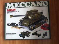 Meccano Army Construction Set