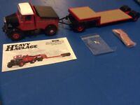 CORGI HEAVY HAULAGE DIECAST SCAMMELL and LOW LOADER
