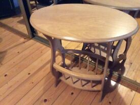 Magazine stand / rack occasional table/ coffee table