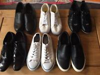 6 PAIR OF MENS SHOE'S/ TRAINERS ALL SIZE 7