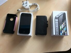 IPhone 4s 8Gb Unlocked, open to all network sims. VGC boxed complete.
