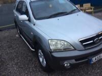 Kia Sorrento diesel manual 2005 55 plate drives like a new one inside and out immaculate MOT till