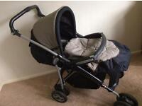 Mamas and Papas freestyler forward facing pram. With footmuff. Good condition. Can negotiate price.