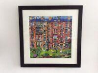 "Rob Hain large framed print titled ""Rear Window"""
