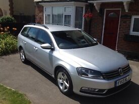 VW Passat Estate 2.0 S Bluemotion Manual 2013 Silver