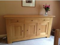 LIght Oak SIdeboard Contemporary design