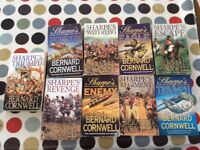 Collection of 9 Bernard cornwell books