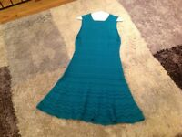 Missoni dress teal blue size 10 cost new 0ver £300 selling £80