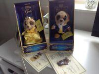 Anya as Belle & Oleg as Beast