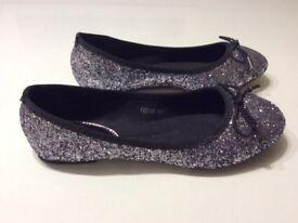 Girl glitter shoes Size 3 / Eu 36