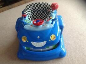 Boys Car / Walker / play station