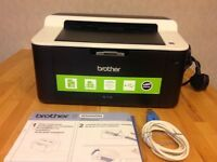 Brother Monochrome Laser printer, HL-1112. Cheap to run, easy to use.