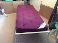 Folding Sing Bed & Mattress