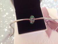 Genuine Pandora Murano Glass charm