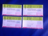 Echo and The Bunnymen x3 concert tickets for Symphony Hall, Birmingham on 26th May 2018