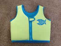 Childs floatation / swim trainer vest, age 4-5