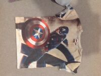 Marvel kids t shirt plus other t shirt for sale.