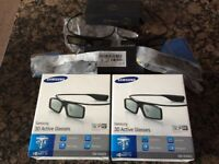 Samsung 3D active glasses 6 pairs
