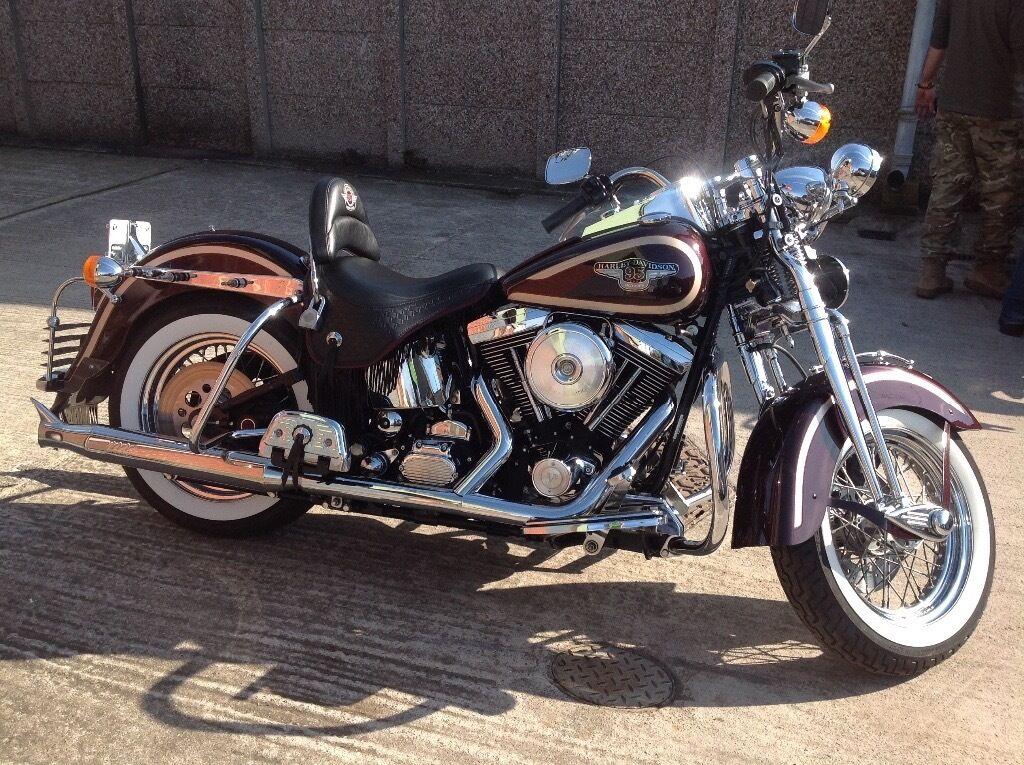 Anniversary Edition Harley Davidson Heritage Springer