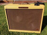 Fender Eric Clapton Twinolux Tweed hand wired 40w 2x12 valve amp. Rare