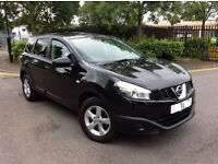 2011 NISSAN QASHQAI + 2 1.6, 7 SEATER, FULL SERVICE HISTORY, CRUISE, MOT JAN 2018, HPI CLEAR