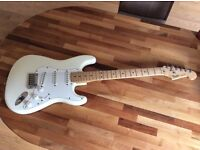 1988 Fender Stratocaster US/American Made White Body Maple Neck Jimi Hendrix Style