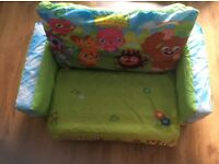 Moshi monster inflateable sofa bed