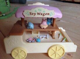 Slyvanians toy cart