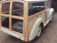 Morris Minor Traveller new restoration