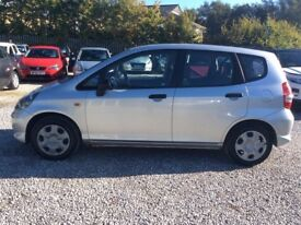 2002 Honad Jazz 1.4 Manual With Long MOT PX WElcome