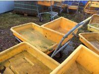Garden centre trolleys used