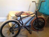 """Black BMX vandals 20"""" wheels"""