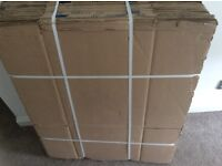 Used double walled cardboard boxes