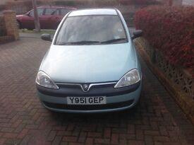Vauxhall Corsa 1.2 good condition,
