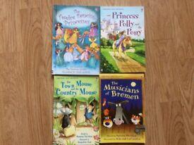 4 x usborne first readers books