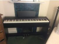 Digital Piano (Chase P-55) in excellent condition in stand with pedal unit