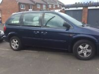 Automatic 7 seater Chrysler voyager